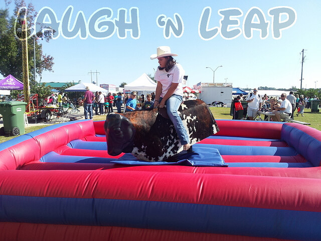 Mechanical Bull Ride Party
