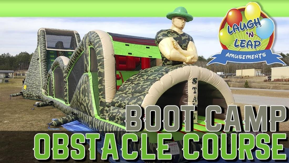 Boot Camp Challenge Obstacle Course