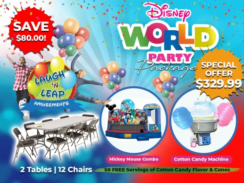 Disney World Party Package