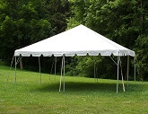 Tent: 20ft x 20ft