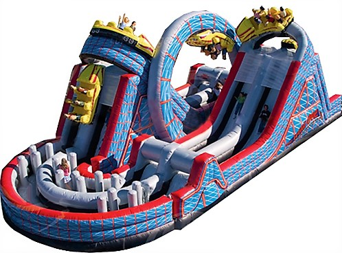 Roller Coaster Obstacle Course