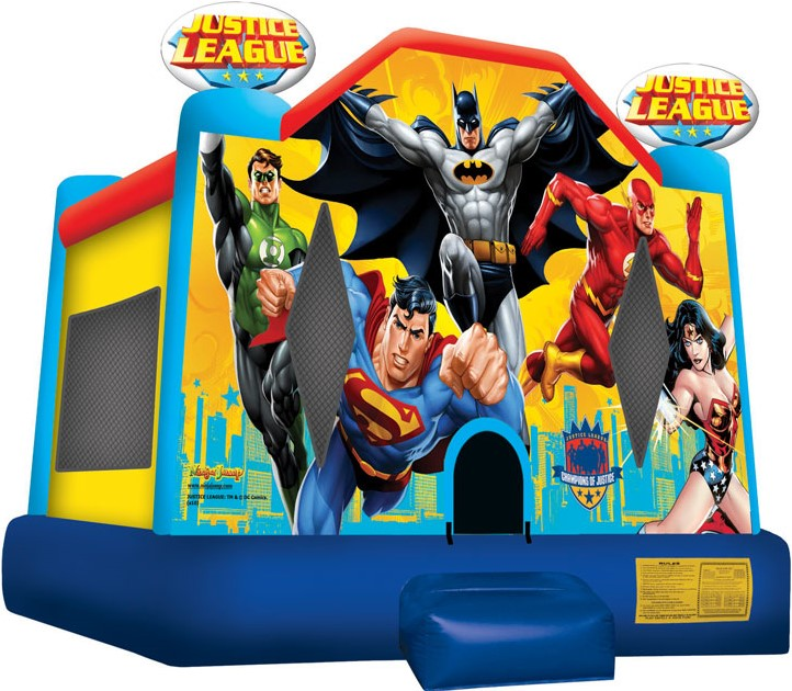 Superheroes Bounce House