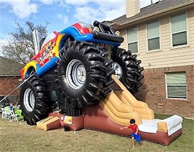 Monster Truck Bounce & Slide Combo