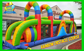 Colorful Obstacle Course Rental