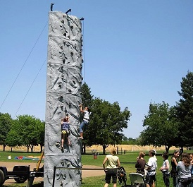 Rock Climbing Wall - 24 feet tall