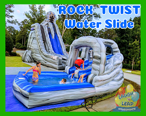 Rock Twist: 2-Story, Dual Lane Water Slide