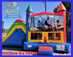 Thomas the Train Bounce House & Double Slide Combo