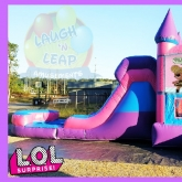 L.O.L. SURPRISE Bounce House Water Slide