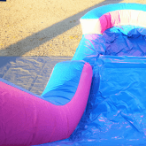 Princess Bounce House Water Slide