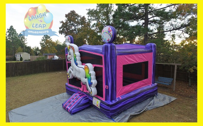 Unicorn Bounce House Unicorn Party Rental Columbia Sc
