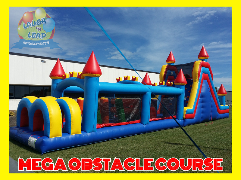 Inflatable Bounce Houses Obstacle Course - Winnsboro, SC